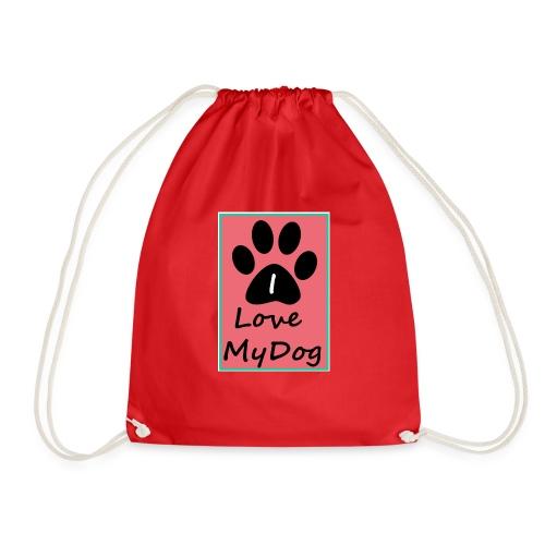love dog 2 - Mochila saco