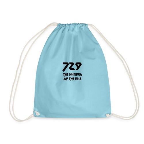 729 grande nero - Sacca sportiva