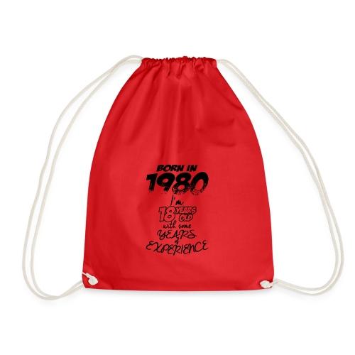 born In1980 - Drawstring Bag