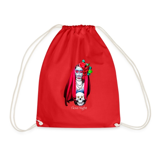 Catrina I love night - Mochila saco