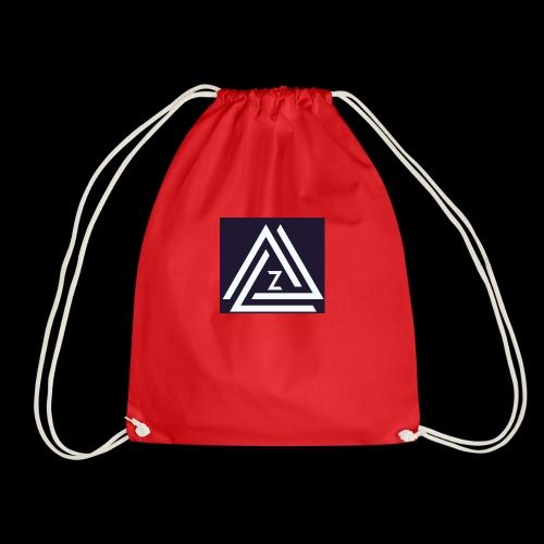 Blue Zovin Logo - Drawstring Bag