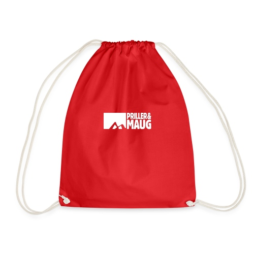 Priller&MAUG Logo WHT - Turnbeutel