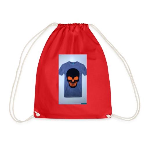 ghost rider - Drawstring Bag