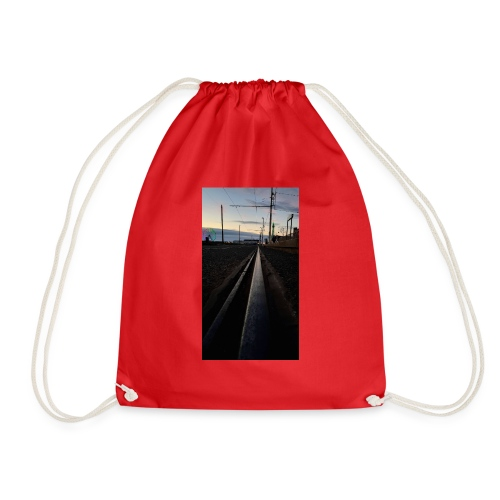 Blackpool, England, UK - Drawstring Bag