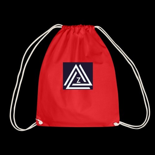 Blue Zovin Logo - Drawstring Bag