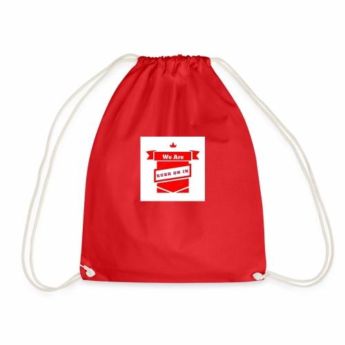 RUSHONIN Logo - Drawstring Bag