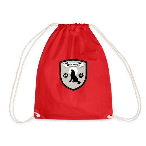 Wolf Moon Crest - Drawstring Bag