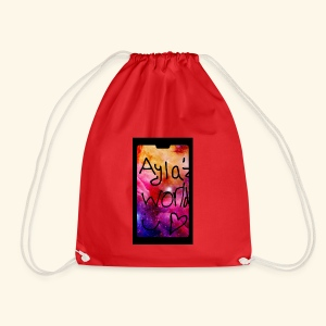 Ayla'z World Galaxy T-Shirt - Drawstring Bag