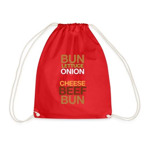 Cheese burger - Drawstring Bag