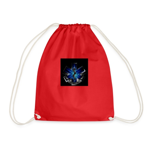 EMS on call for life phone case - Drawstring Bag