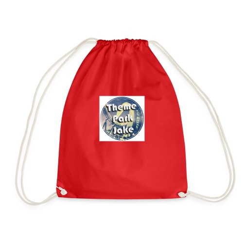 THEME PARK JAKE LOGO - Drawstring Bag