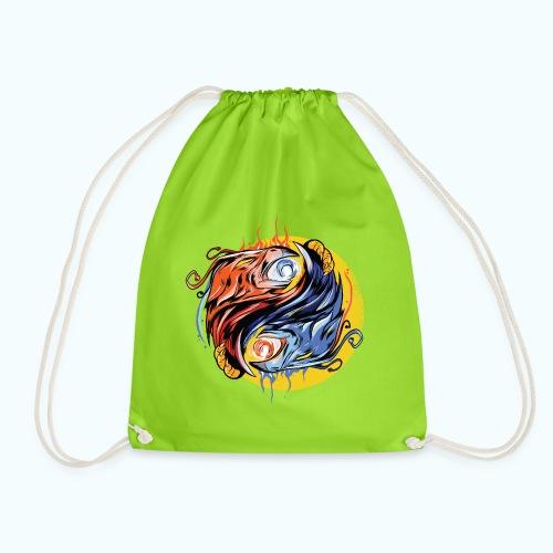 Japan Phoenix - Drawstring Bag