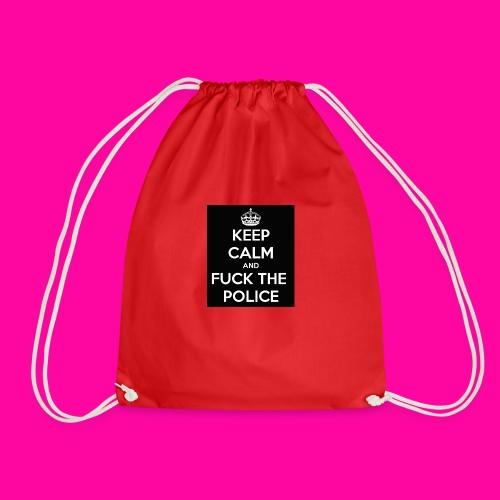 keep calm and fuck the police - Worek gimnastyczny