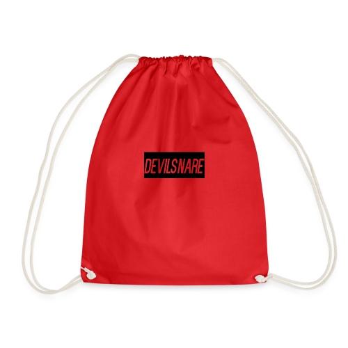Devilsnare555's blood red backback - Drawstring Bag
