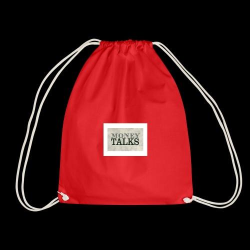Money Talks - Drawstring Bag