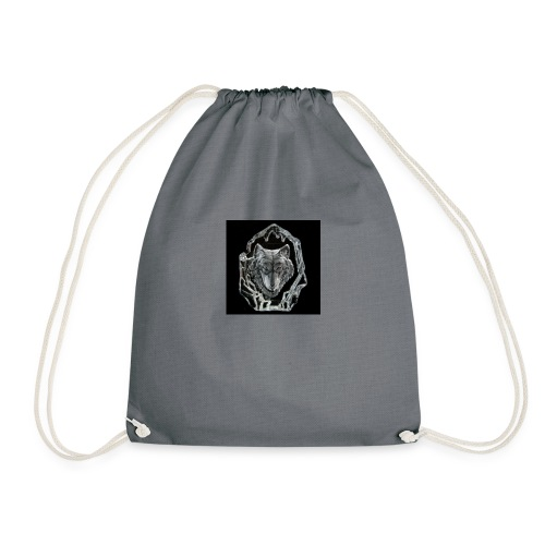 Crystal Wolf - Drawstring Bag