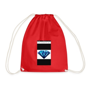 Black diomand - Drawstring Bag
