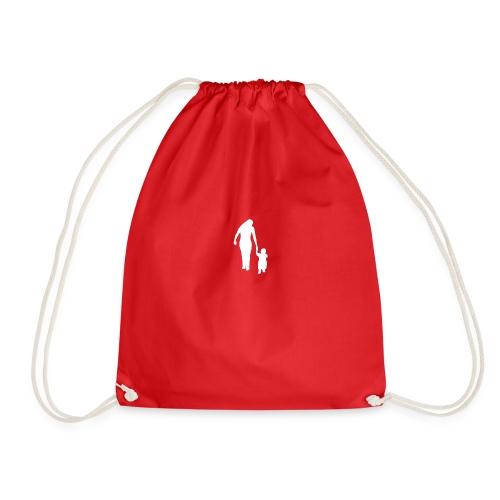Sporttasche Rot/Weiß - Turnbeutel