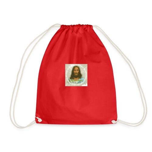 ROSTRO DE JESUS CON CODIGOS SAGRADOS - Mochila saco