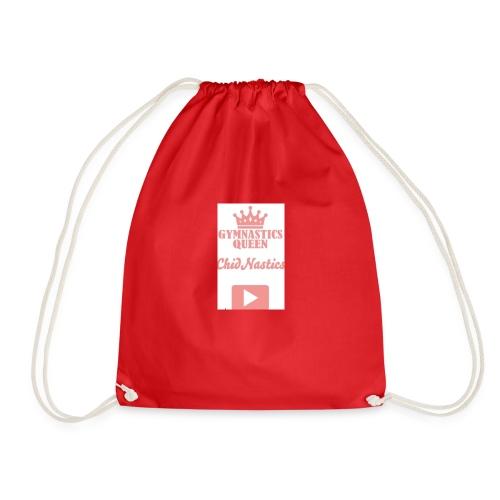 gymnastics queen 💎💎💎💎💎💎💎💎💎💎💎💎💎💎💎💎 - Drawstring Bag