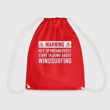 Windsurfing Gift: Order Here - Drawstring Bag
