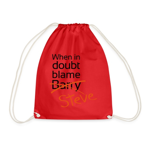BlameBarryXSteve - Drawstring Bag