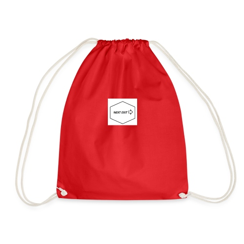 Next exit - Drawstring Bag