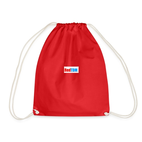 RedRed TDMBlue - Drawstring Bag