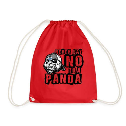 Never Say No To a Panda - Turnbeutel