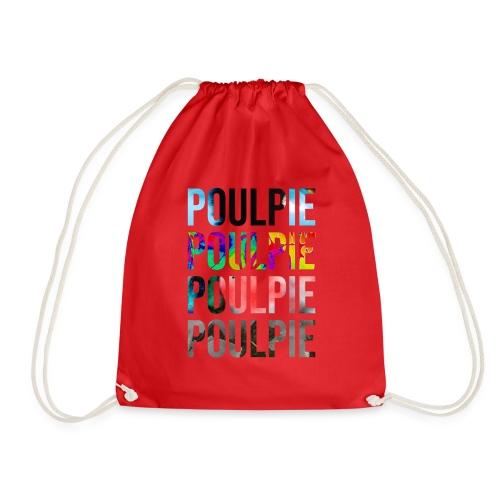 Poulpie Discography - Drawstring Bag