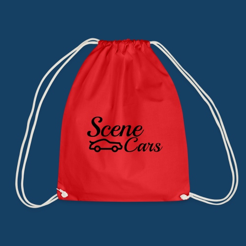 Scene Cars Official Vector Logo - Drawstring Bag