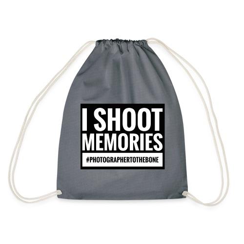 I SHOOT MEMORIES, #photographertothebone - Sportstaske