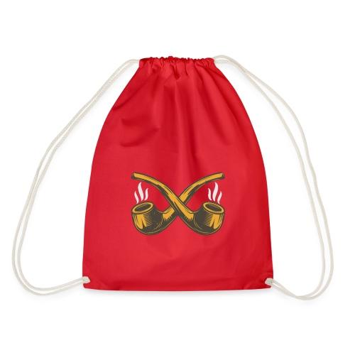 Pipe Design - Drawstring Bag