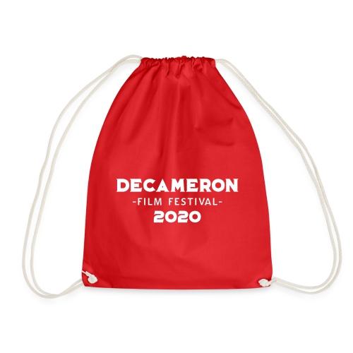DECAMERON Film Festival 2020 (FRONT & BACK) - Drawstring Bag