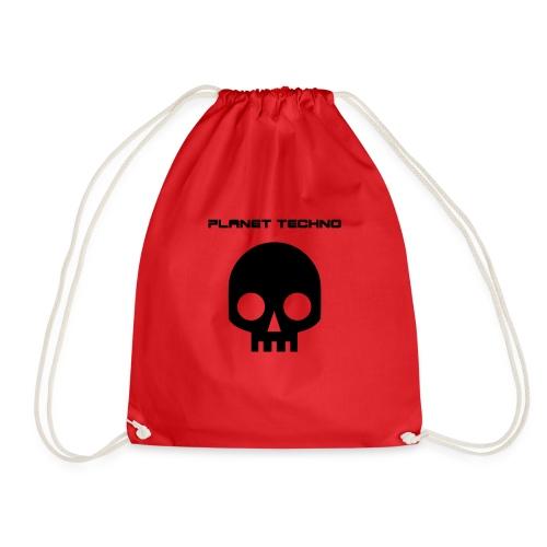 Planet Techno Tee001 - Drawstring Bag