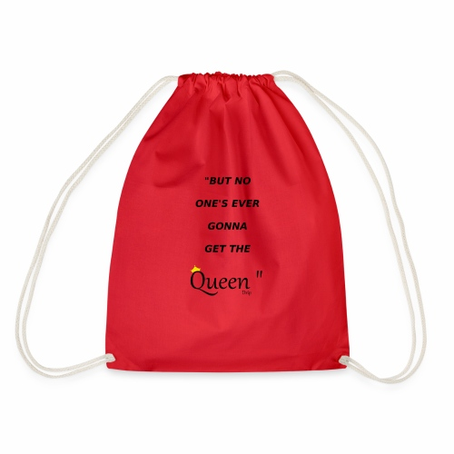 DRIP QUEEN EDITION - Drawstring Bag