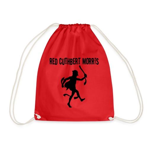 Red Cuthbert Logo design - Drawstring Bag