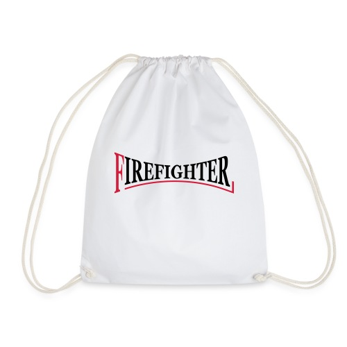 Fire Fighter Logo - Turnbeutel