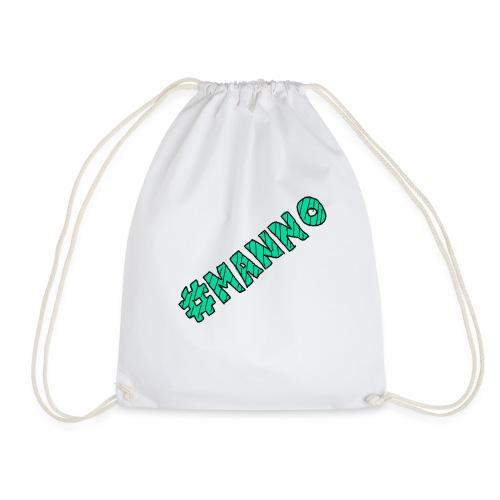 #manno-Schriftzug - Turnbeutel