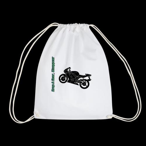 Mouse Mat - Drop A Gear, Disappear - Drawstring Bag