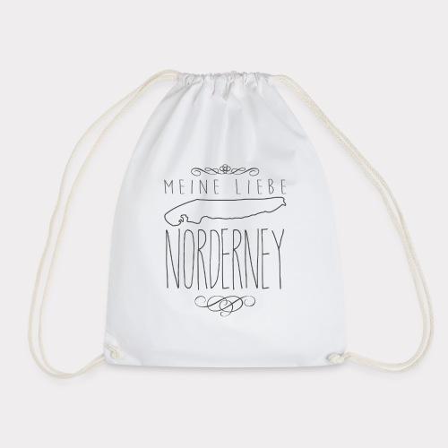 Meine Liebe Norderney - Turnbeutel