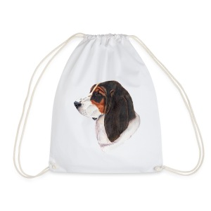 bassethound color - Sportstaske