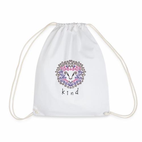 kind Is For All Kind - Drawstring Bag