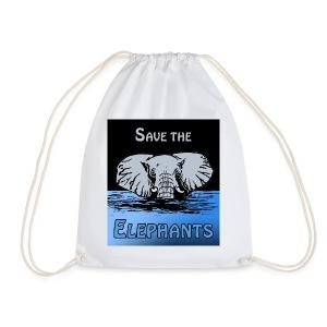 Save The Elephants - Turnbeutel