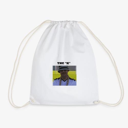 The K - Drawstring Bag