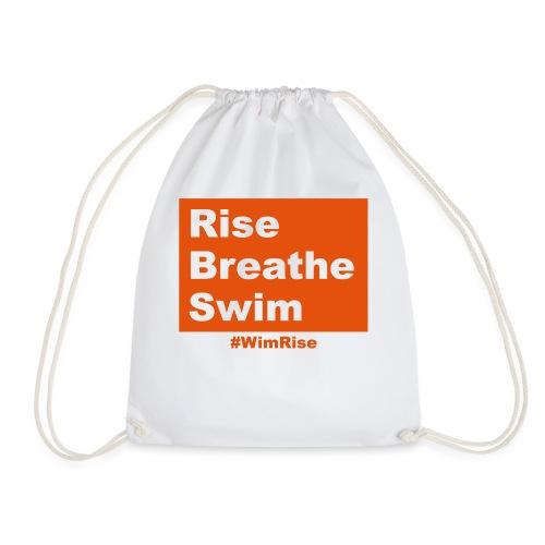 Rise Breathe Swim - Drawstring Bag