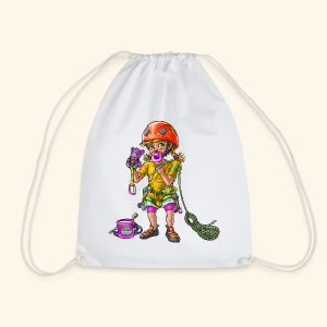 Little baby climber 1 - Drawstring Bag
