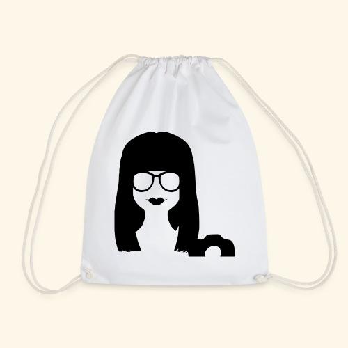 Face profile - Drawstring Bag