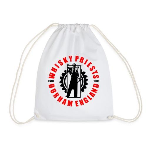 IRON MAN LOGO RED BLACK TRANS - Drawstring Bag