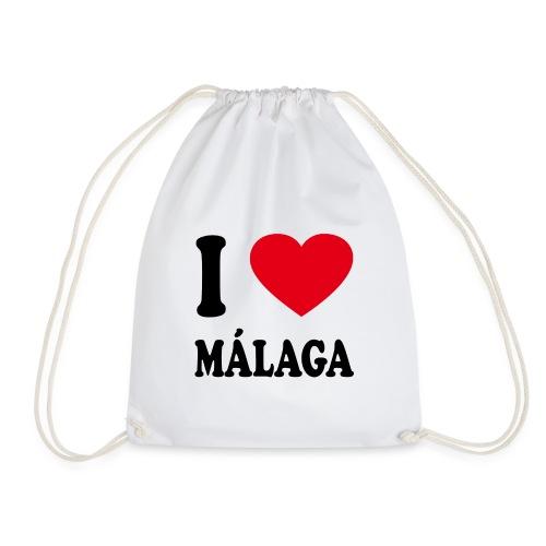 I love Malaga - Turnbeutel